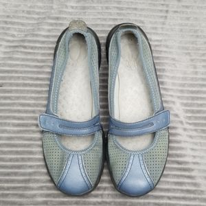 Leather Privo Mary Jane shoes by Clark size 7